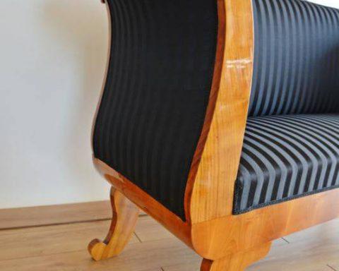 A22 Wunderschönes Biedermeier Sofa