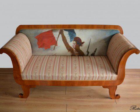 A34 Biedermeier Sofa