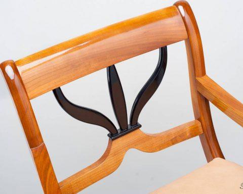 F13 Biedermeier Sessel