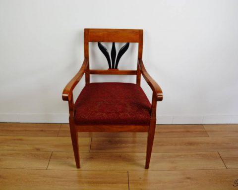 F17 Wunderschöner Biedermeier Sessel