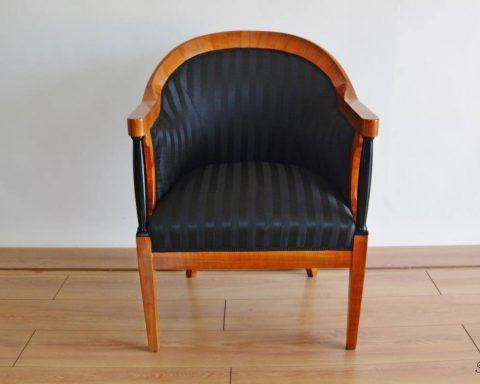 F3 Biedermeier Bergere Sessel