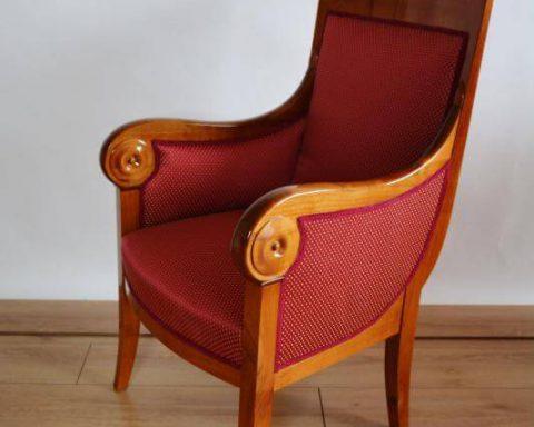 F32 Biedermeier Sessel