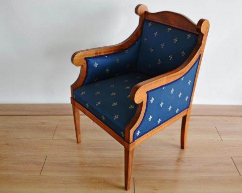 F34 Biedermeier Sessel