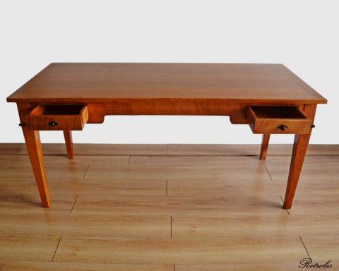 T14 Biedermeier Schreibtisch