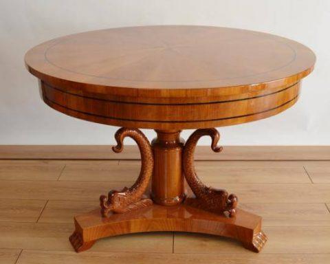Biedermeier Tisch 110 cm