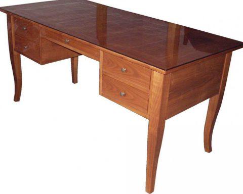 T21 Biedermeier Schreibtisch