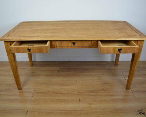 Biedermeier Schreibtisch mit 3 Schubladen