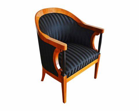 Biedermeier Bergere Sessel