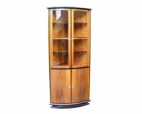 R24 Art Deco Eckvitrine