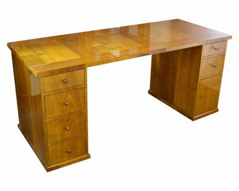 T27 Biedermeier Schreibtisch